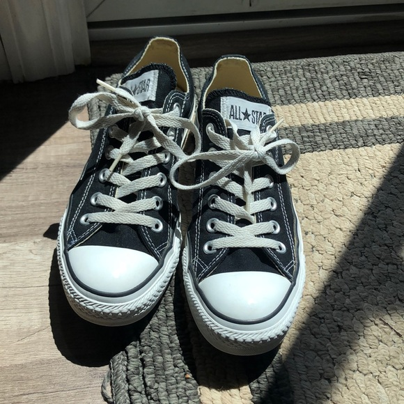 Converse Shoes   All Star Black Size
